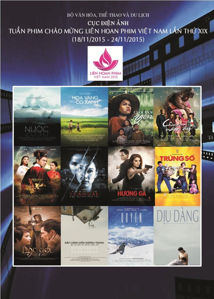 Khai mạc Tuần phim Việt Nam chào mừng Liên hoan phim lần thứ 19 (Thời sự đêm ngày 18/11/2015)