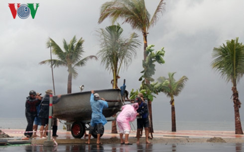 Các tỉnh Nam Trung Bộ nỗ lực khắc phục thiệt hại sau mưa lũ và khẩn trương ứng phó với bão số 12 (3/11/2017)