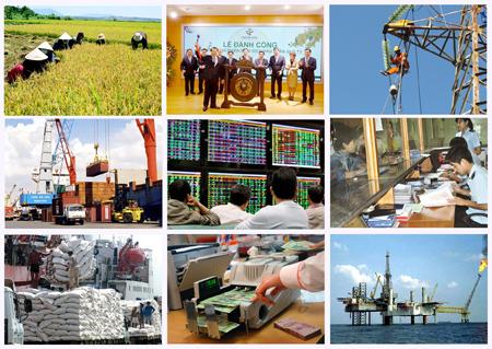 Thời sự chiều ngày 17/12/2014: Bộ trưởng 3 Bộ: Kế hoạch và Đầu tư, Tài chính, Công Thương và Thống đốc Ngân hàng Nhà nước đã có Phiên họp lần thứ nhất triển khai thực hiện