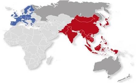 Liên minh Châu Âu (EU) với chiến lược hướng về châu Á