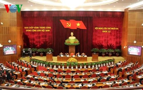 Hội nghị lần thứ 13 Ban Chấp hành Trung ương Đảng khóa 11 khai mạc trọng thể tại Hà Nội (Thời sự trưa 14/12/2015)