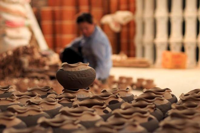 Phục hồi và phát triển làng nghề truyền thống gốm sứ Kim Lan (12/3/2016)