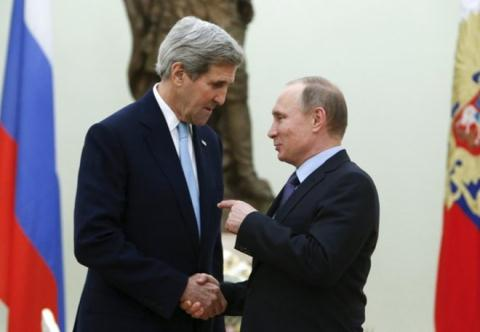 Ngoại trưởng Mỹ thăm Nga để bàn về vấn đề nóng của toàn cầu (25/3/2016)