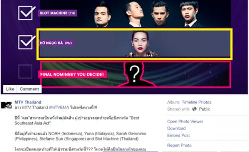 Văn hóa giải trí cuối tuần ngày 20/9/2014: Nghi án MTV dàn xếp kết quả và sự thiếu minh bạch trong hệ thống bầu chọn tại Việt Nam.