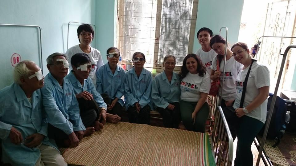 Bạn bè với Việt Nam ngày 18/9/2014:  Đại sứ quán Israel tổ chức mổ mắt miễn phí tại Thanh Hóa