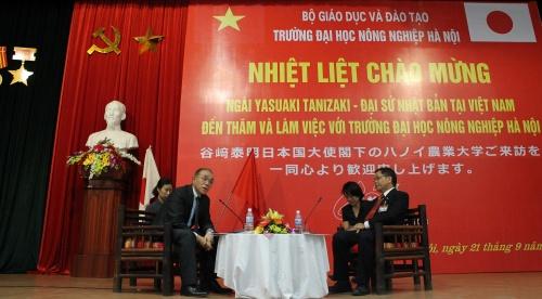 Bạn bè với Việt Nam ngày 30/6/2014:Hợp tác phát triển toàn diện nông nghiệp Việt Nam - Nhật Bản
