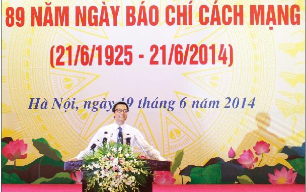 Thời sự sáng ngày 20/6/2014: Báo chí đã luôn sát cánh cùng Chính phủ