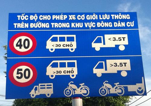 Chính phủ với Người dân ngày 17/6/2014: Điều chỉnh biển báo hạn chế tốc độ trên các tuyến quốc lộ