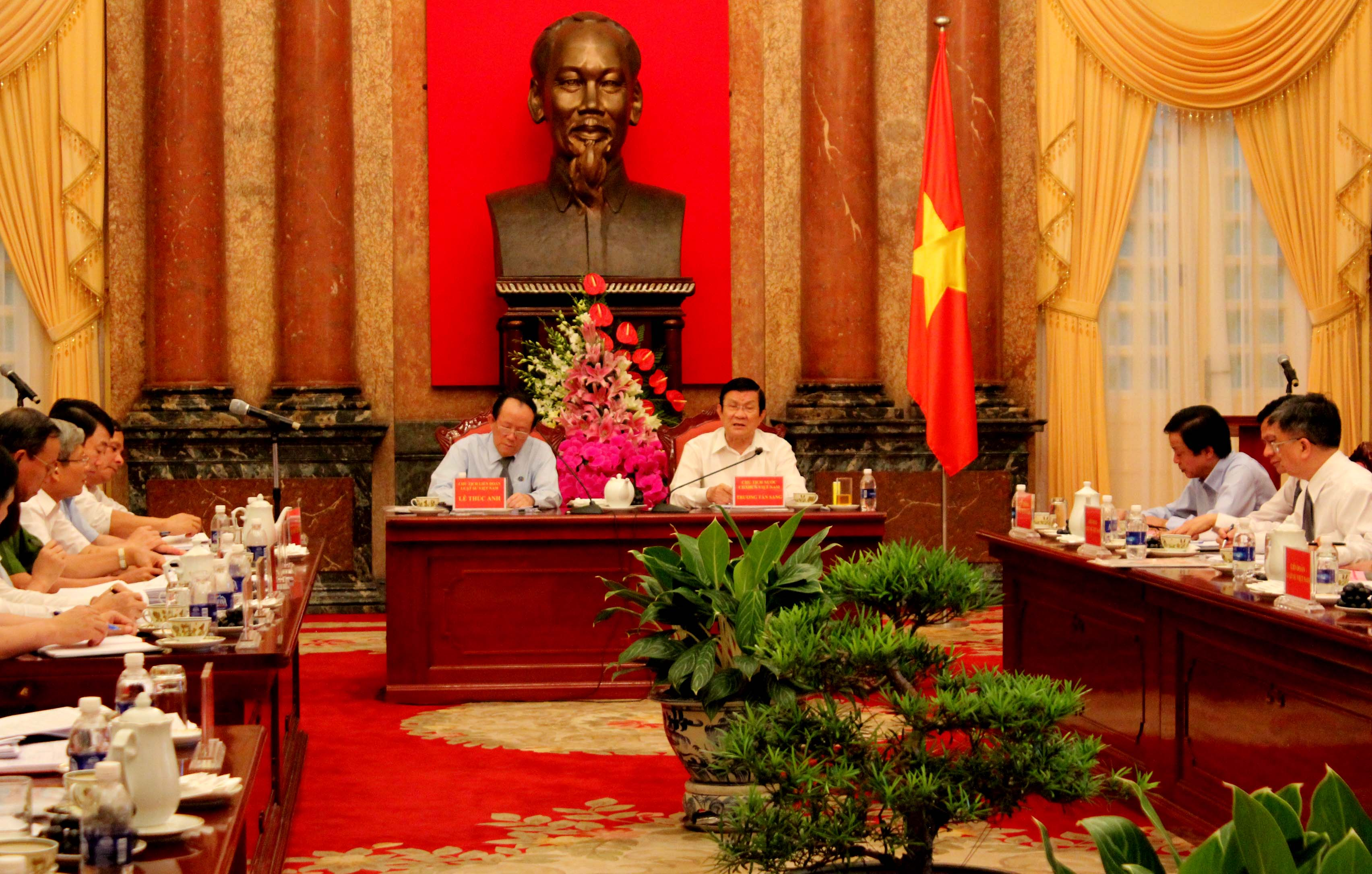 Thời sự chiều ngày 01/8/2014: Chủ tịch nước làm việc với Liên đoàn Luật sư Việt Nam
