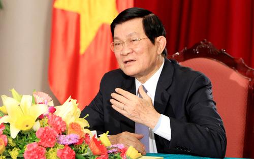 Thời sự đêm ngày 26/6/2014: Tiếp xúc cử tri thành phố Hồ Chí Minh, Chủ tịch nước Trương Tấn Sang khẳng định quyết tâm bảo vệ toàn vẹn chủ quyền thiêng liêng của tổ quốc.