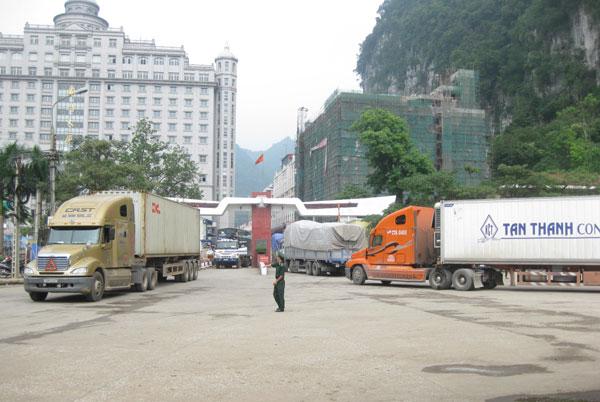 Theo dòng thời sự ngày 04/7/2014: Thực tế giao thương tại cửa khẩu Tân Thanh, Lạng Sơn
