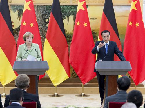 Đức  và Trung Quốc tăng cường hợp tác thương mại