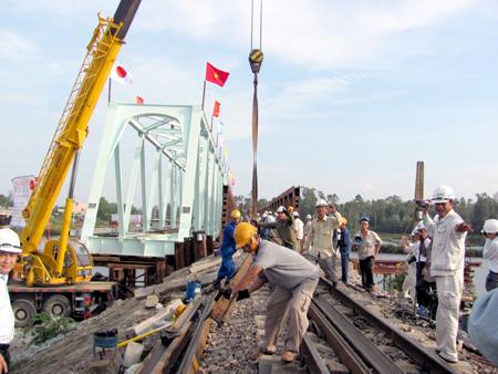 Theo dòng thời sự ngày 20/8/2014:  Quyết định  đổi chủ đầu tư 18 dự án đường sắt do triển khai chậm và tiêu cực.