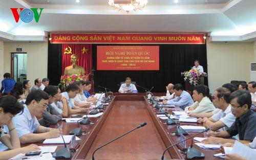 Thời sự trưa ngày 20/8/2014: Hội nghị trực tuyến tại 63 điểm cầu trên cả nước kỷ niệm 45 năm thực hiện Di chúc của Chủ tịch Hồ Chí Minh