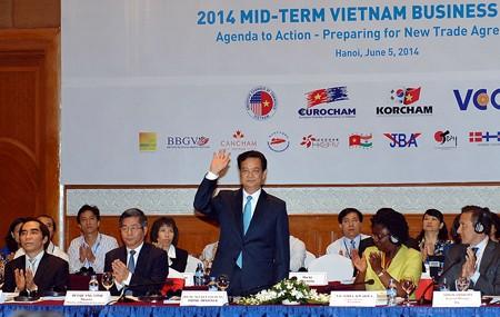Kinh tế ngày 12/6/2014: Diễn đàn doanh nghiệp Việt Nam giữa kỳ