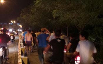 Thời sự sáng ngày 15/9/2014: Hơn 300 học viên ở Trung tâm Giáo dục - Lao động xã hội Hải Phòng tự ý rời khỏi trung tâm.