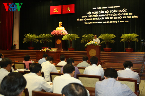 Thời sự chiều ngày 21/8/2014: Hội nghị toàn quốc quán triệt, triển khai Chỉ thị 36 của Bộ Chính trị về Đại hội Đảng bộ các cấp, tiến tới Đại hội Đảng toàn quốc lần thứ 12