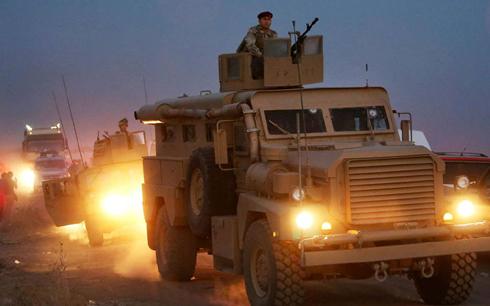 Phiến quân Nhà nước Hồi giáo chịu sức ép tấn công trên nhiều mặt trận