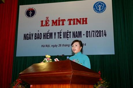 Thời sự sáng ngày 1/7/2014: Ngày Bảo hiểm y tế Việt Nam 1/7 năm nay có chủ đề