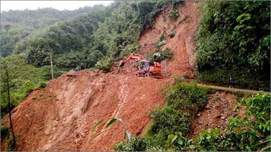 Thời sự sáng ngày 14/8/2014:  Thủ tướng chính phủ quyết định hỗ trợ 210 tỷ đồng cho Hà Giang xử lý sạt trượt đất