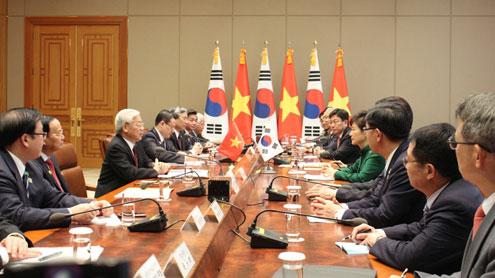 Thời sự chiều ngày 02/10/2014: Tại Xơ-un, Hàn Quốc, Tổng Bí thư Nguyễn Phú Trọng hội đàm với Tổng thống Hàn Quốc Pắc-cưn-hê