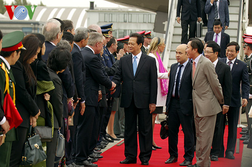 Thời sự sáng ngày 13/10/2014 : Thủ tướng Nguyễn Tấn Dũng bắt đầu chuyến thăm chính thức tới Vương quốc Bỉ