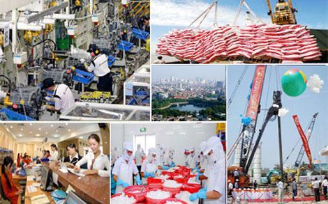 Kinh tế ngày 21/10/2014: Các giải pháp đảm bảo mục tiêu tăng trưởng kinh tế.
