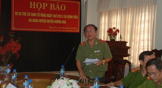 Thời sự trưa ngày 07/10/2014: Về vụ 3 trẻ tử vong sau khi tiêm vắc-xin ở Quảng Trị, có thêm 2 cán bộ y tế bị khởi tố