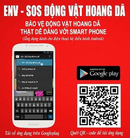 Môi trường và phát triển ngày 25/8/2014: Ứng dụng công nghệ hiện đại với điện thoại thông minh trong bảo vệ động vật hoang dã