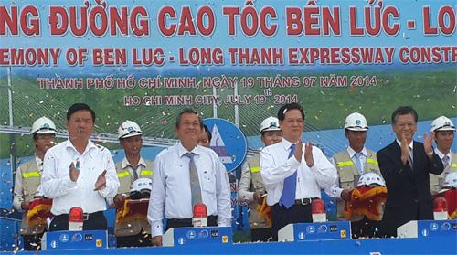 Thời sự trưa ngày 19/7/2014:Thủ tướng Nguyễn Tấn Dũng dự lễ khởi công dự án đường cao tốc Bến Lức - Long Thành