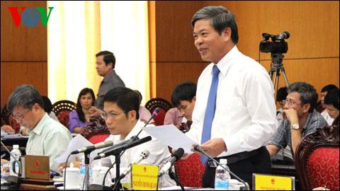 Thời sự sáng ngày 29/9/2014: Hôm nay, Ủy ban Thường vụ Quốc hội chất vấn Thống đốc Ngân Hàng nhà nước và Bộ trưởng Bộ Tài nguyên Môi trường