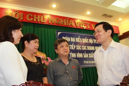 Thời sự chiều ngày 28/6/2014: Chủ tịch nước tiếp xúc và lắng nghe kiến nghị của các doanh nghiệp thành phố Hồ Chí Minh