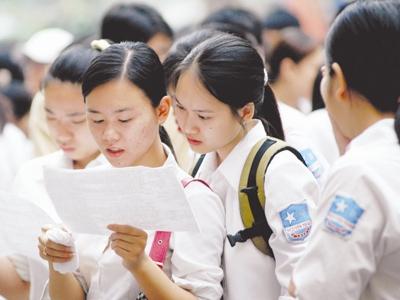 Điểm hẹn 17h00 ngày 14/8/2014: 20 trường THPT của thành phố Hà Nội vi phạm tuyển sinh vào lớp 10 khi tuyển vượt chỉ tiêu 400 em