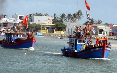 Biển đảo Việt Nam ngày 14/10/2014: Ngư dân cần cẩn trọng khi khai thác ở vùng biển Hoàng Sa