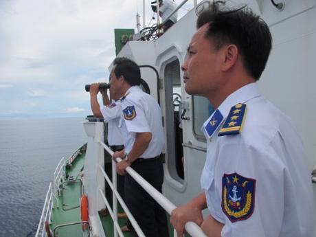 Biển đảo Việt Nam ngày 25/8/2014: Cảnh sát biển Việt Nam: Điểm tựa cho ngư dân vươn khơi