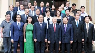 Thời sự chiều ngày 18/10/2014: Tổng bí thư Nguyễn Phú Trọng làm việc với cán bộ chủ chốt của Bộ Văn hóa, Thể thao và Du lịch về xây dựng, phát triển văn hóa, con người Việt Nam