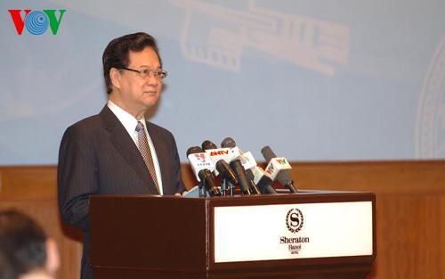Thời sự sáng ngày 13/8/2014: Thủ tướng Nguyễn Tấn Dũng khẳng định đường lối đối ngoại độc lập tự chủ, đa dạng hóa, đa phương hóa trong quá trình hội nhập quốc tế