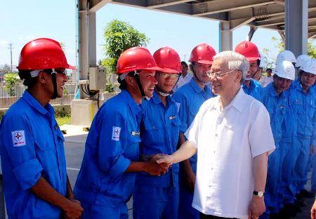 Thời sự trưa ngày 01/8/2014: Tổng Bí thư Nguyễn Phú Trọng thăm và làm việc tại Khu kinh tế Nghi Sơn, Thanh Hóa