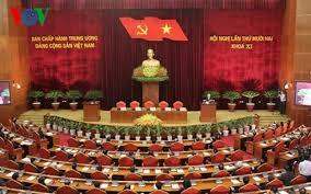 Bế mạc Hội nghị lần thứ 12 Ban Chấp hành Trung ương Đảng khóa 11. (Thời sự chiều 11/10/2015)