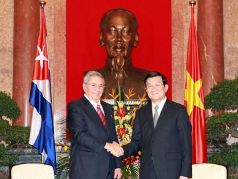 Việt Nam- Cu Ba : Hình mẫu về mối quan hệ quốc tế