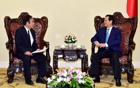 Thủ tướng Nguyễn Tấn Dũng tiếp tỉnh trưởng tỉnh Sai-ta-ma, Nhật Bản đang thăm và làm việc tại nước ta (Thời sự đêm ngày 26/10/2015)