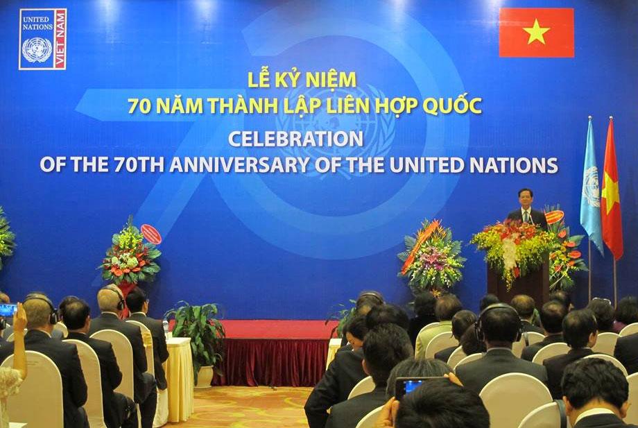 Thủ tướng Nguyễn Tấn Dũng dự và phát biểu tại Lễ kỷ niệm 70 năm Ngày thành lập Liên hợp quốc. (Thời sự đêm 27/10/2015)
