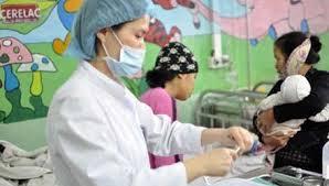 Bộ Y tế theo dõi chặt dịch bệnh bạch hầu đang diễn ra tại Lào để triển khai các biện pháp phòng chống. (Thời sự trưa 02/11/2015)