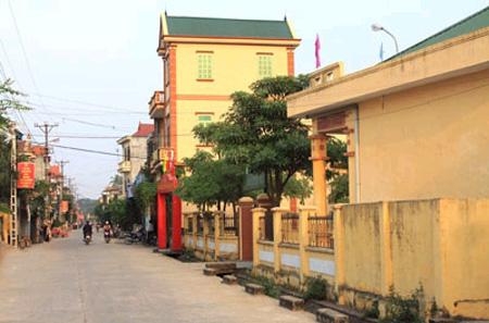 Nông thôn mới thay đổi diện mạo cho Tam Phúc, tỉnh Vĩnh Phúc. (25/11/2015)