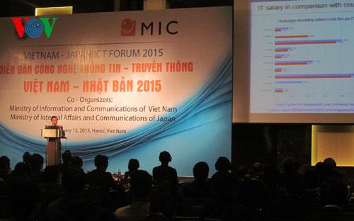 Bạn bè với Việt Nam ngày 22/01/2015: Tăng cường hợp tác công nghệ thông tin Việt Nam - Nhật Bản
