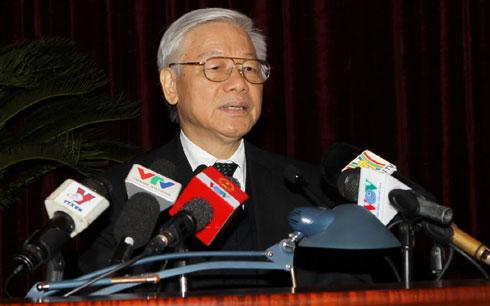 Thời sự sáng ngày 30/01/2015: Tổng Bí thư Nguyễn Phú Trọng nhấn mạnh tính công tâm, trong sáng, khách quan, tận tụy với công việc của những người làm công tác tổ chức cán bộ