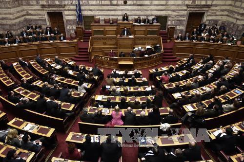 """Tình hình Hy Lạp khi thực hiện chương trình """"Chính phủ cứu vãn xã hội"""""""