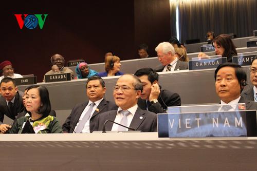 Thời sự trưa ngày 28/02/2015: Phó Thủ tướng Nguyễn Xuân Phúc yêu cầu các bộ, ngành, địa phương tập trung rà soát, bổ sung, hoàn chỉnh các phương án, kế hoạch đảm bảo tuyệt đối an ninh, an toàn cho Đại hội đồng Liên nghị viện thế giới 132 diễn ra vào đầu tháng 3 tới.