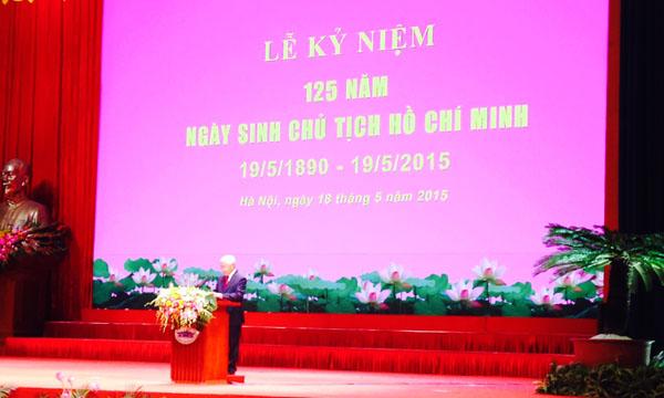 Thời sự trưa ngày 18/5/2015: Mít tinh trọng thể kỷ niệm 125 năm Ngày sinh Chủ tịch Hồ Chí Minh