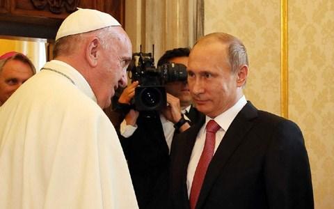 Tổng thống Nga thăm Italia và Tòa thánh Vatican